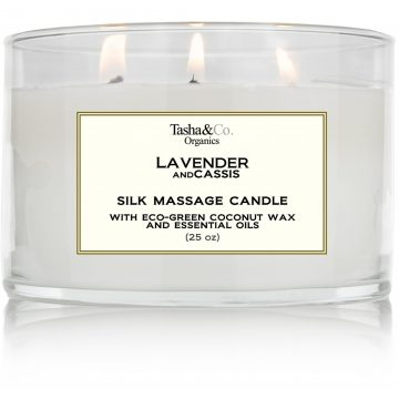 Lavender and Cassis Candle
