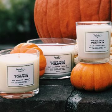 Warm Spice Pumpkin Candle