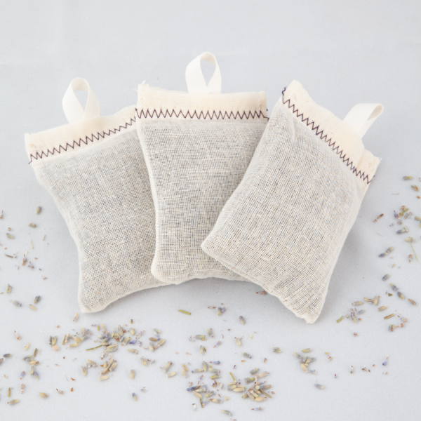 Lavender Dryer Pouches – handmade 3 pack