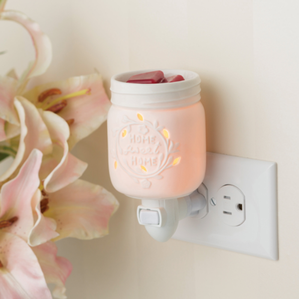 Mason Jar Wax Melt & Essential Oil Warmer + Free Wax Melt