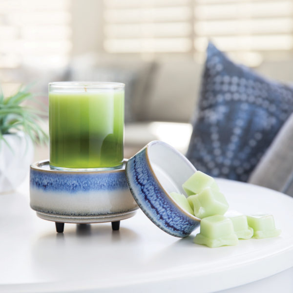 Horizon 2-in-1 Wax Melt, Essential Oil & Candle Warmer + Free Wax Melt Cup