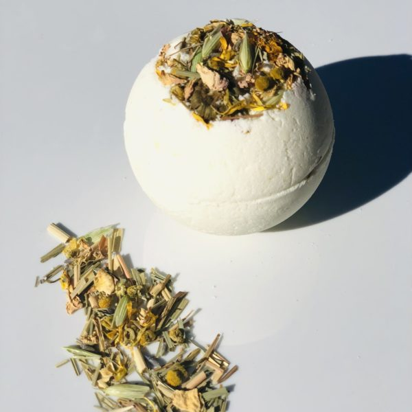 Lemongrass and Vanilla Mega Moisture Bath Truffle – Purifying & Centering