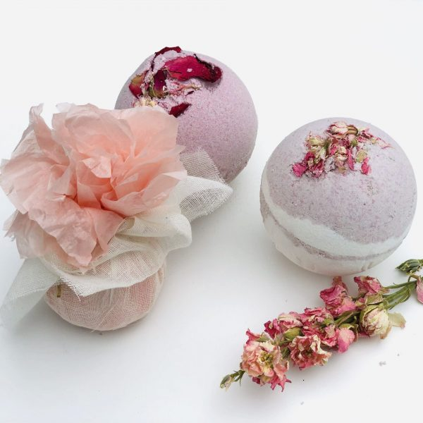Rose Water Bath Melts – Healing & Soothing Comfort