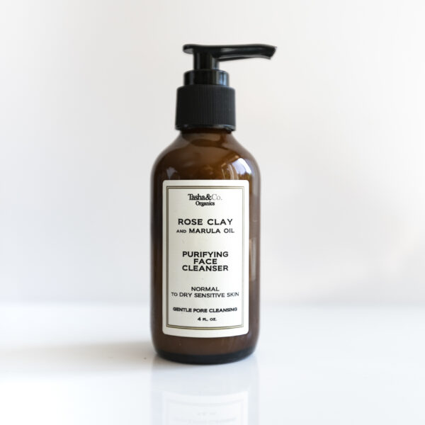 Rose Clay and Marula Oil Pore Refining Cleansing Mark  – for all Skin Types