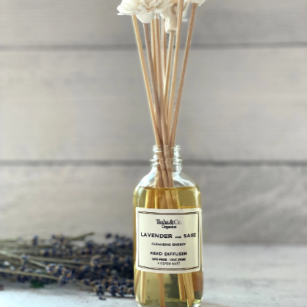A Sola Flower Reed Diffuser – Spa Collection – Aromatherapy Fragrance of your choice