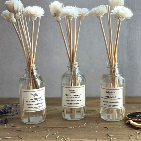A Trio Gift Set –  Luxury Collection – 3 Reed Diffusers & Sola Reeds